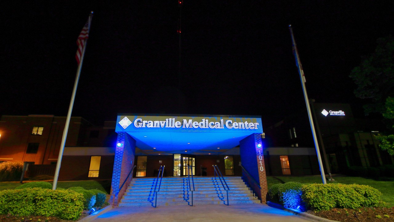 "Granville Health System Joins ""Light it Blue"" Campaign"