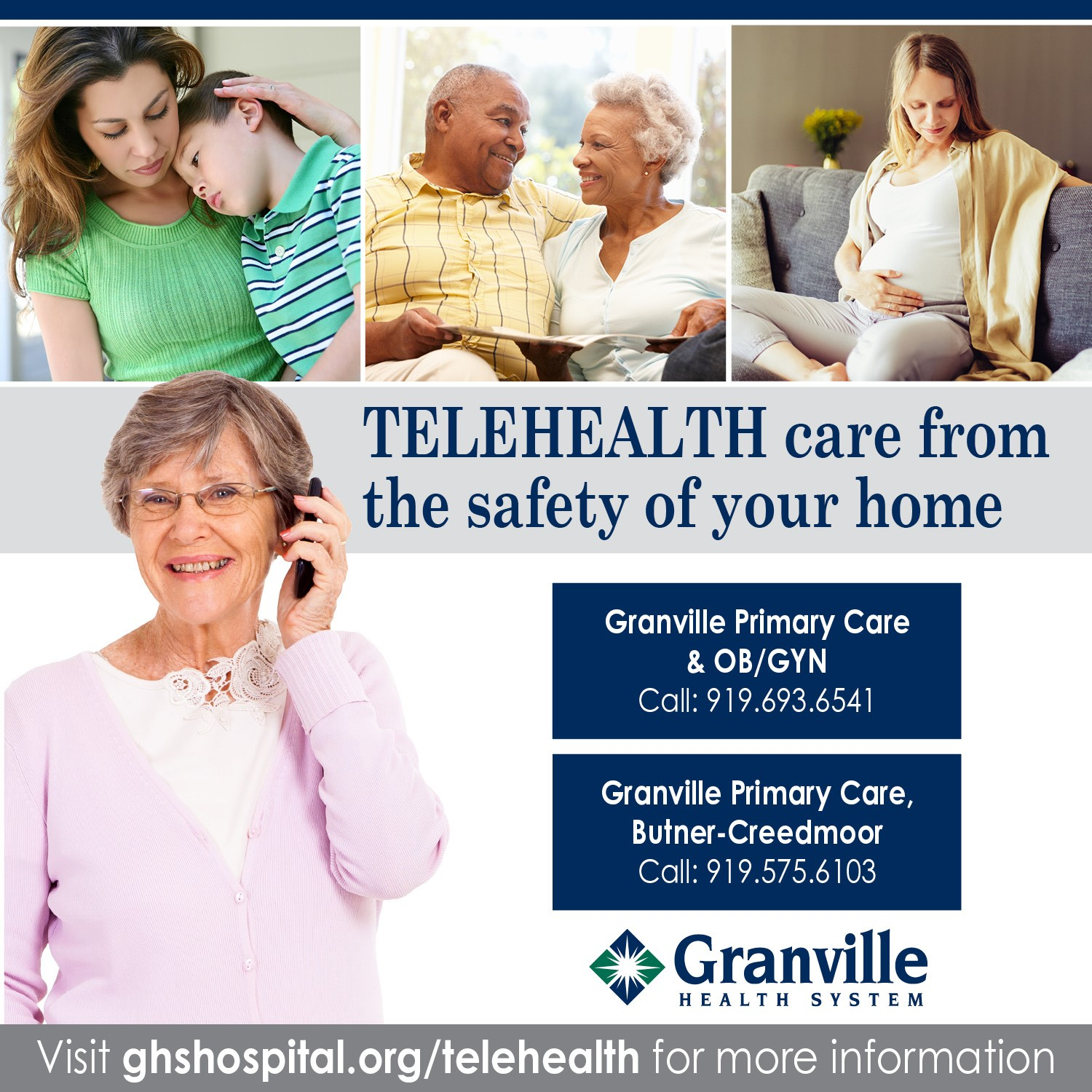 Granville Health System Physician Office Locations Now Offering TELEHEALTH Visits